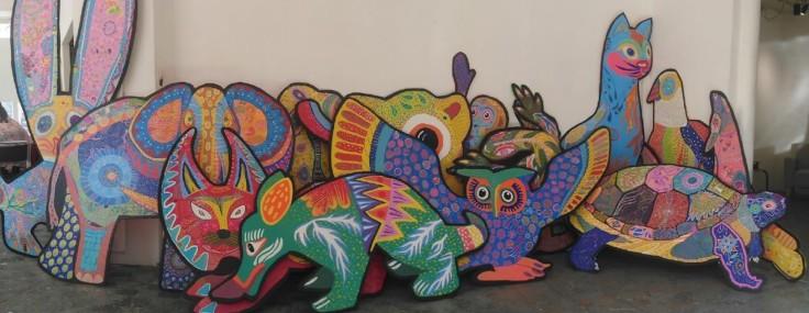 Exposition « Alebrojes : les couleurs d'un autre monde »