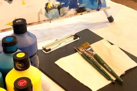 Atelier Peinture Hôtel Mercure