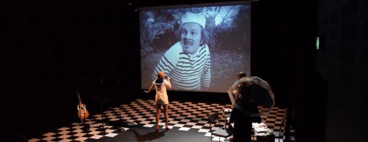 Spectacle Le Club R-26, une épopée documentaire en récit, films et chansons