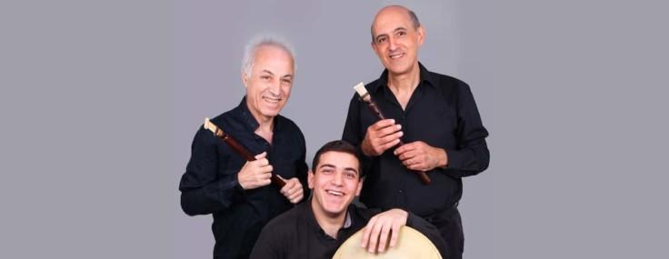 Concert du trio Araïk