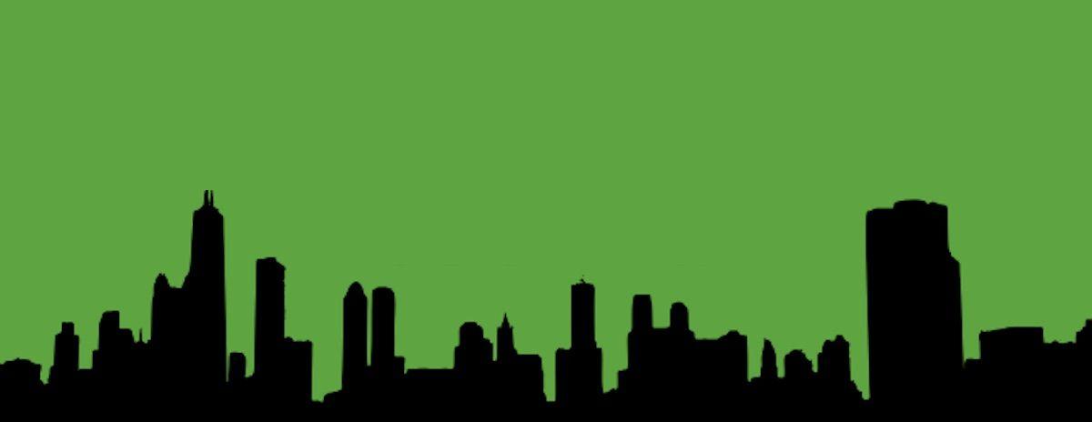 Projection Green Guerilla