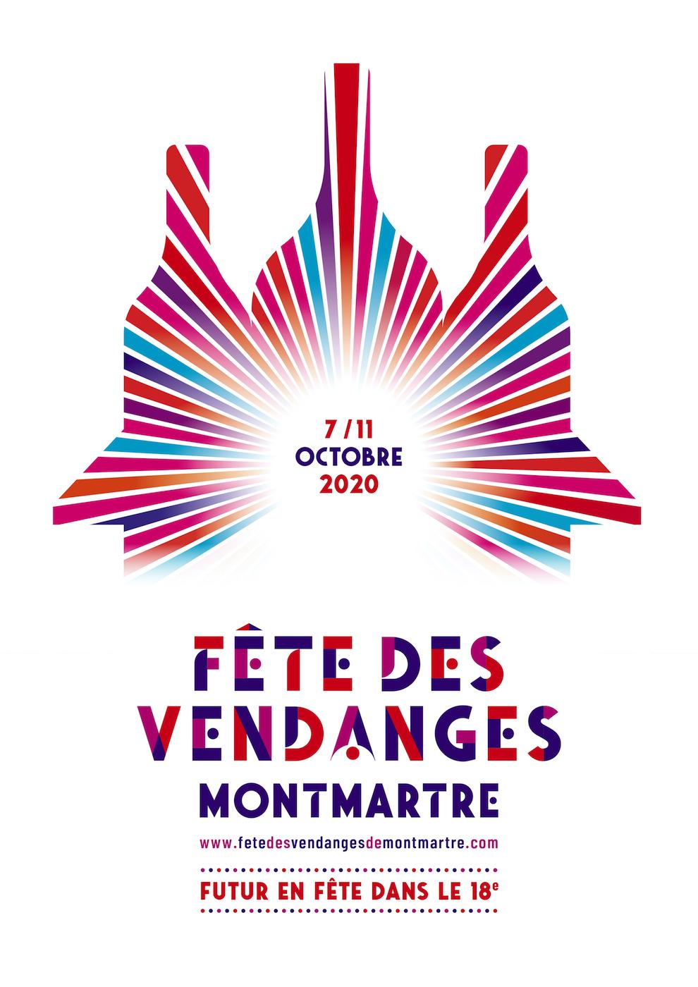 Affiche Fête des Vendanges de Montmartre 2020